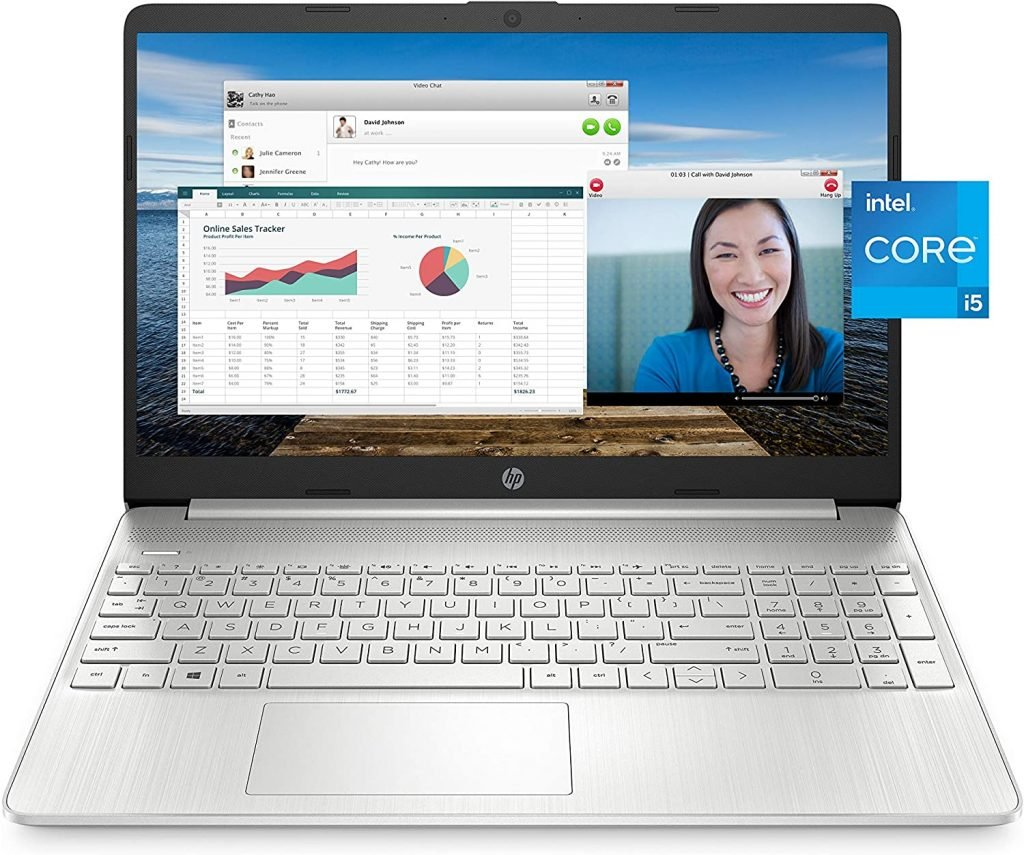 Picture of HP15 Intel Core i5 laptop